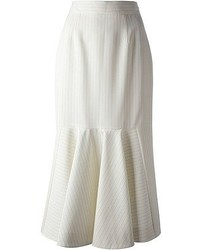 Stella McCartney Midi Pleated Hem Skirt