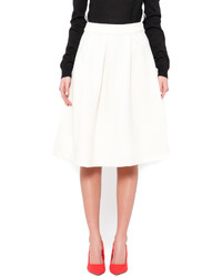 Xtaren cream quilted midi medium 362635