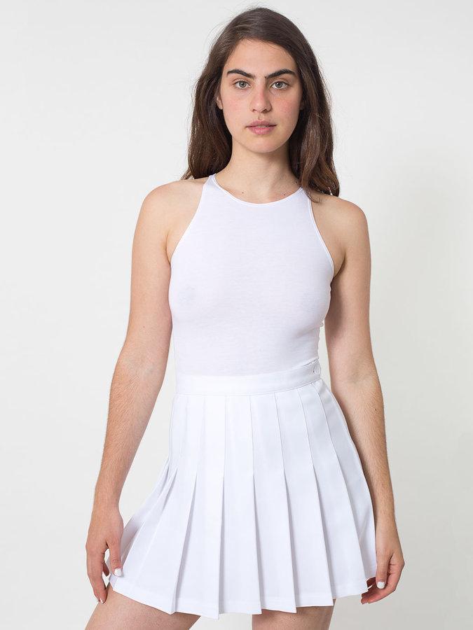 dba27c5cf1 American Apparel Tennis Skirt, $54 | American Apparel | Lookastic.com