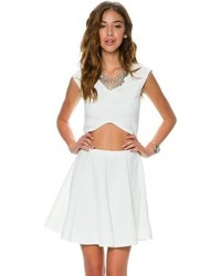 Swell Border Skater Skirt