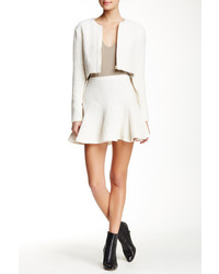 Derek Lam 10 Crosby Godet Mini Skirt