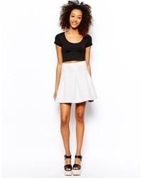 Vero Moda Textured A Line Skirt