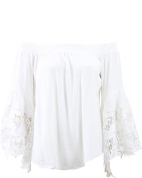 Muche et muchette venus flower lace tunic medium 269860