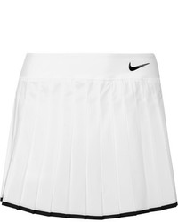 Nike Victory Pleated Dri Fit Stretch Tennis Skirt White