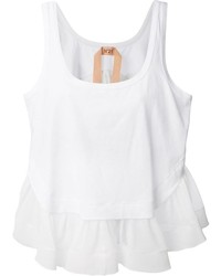No.21 N21 Ruffled Tank Top