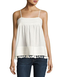 The park pleated trim tank white medium 3679797