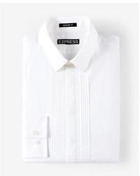Modern fit pleated tuxedo dress shirt medium 5026520