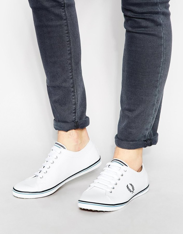 Fred Perry Kingston Leather Sneakers in yfZqx