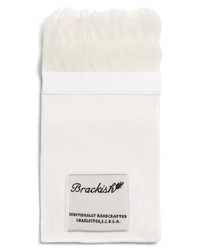 Brackish & Bell Carew Feather Pocket Square