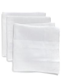 Saks Fifth Avenue Collection Linen Pocket Square Set