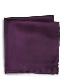 Saks Fifth Avenue Collection Silk Solid Pocket Square