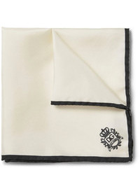 Dolce & Gabbana Silk Faille Pocket Square