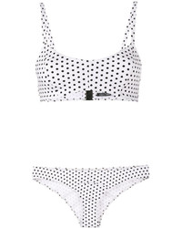 Lisa Marie Fernandez Genevieve Polka Dot Bikini