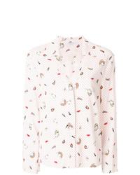 Vivetta Loose Fit Printed Shirt
