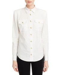 Balmain Polka Dot Shirt