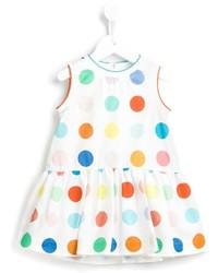 Fay Kids Polka Dot Dress