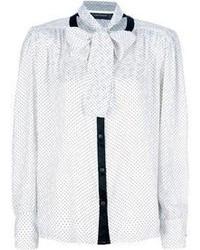 Louis feraud vintage polka dot blouse medium 68808