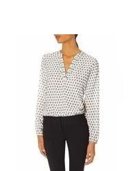 The limited polka dot layering blouse medium 68813
