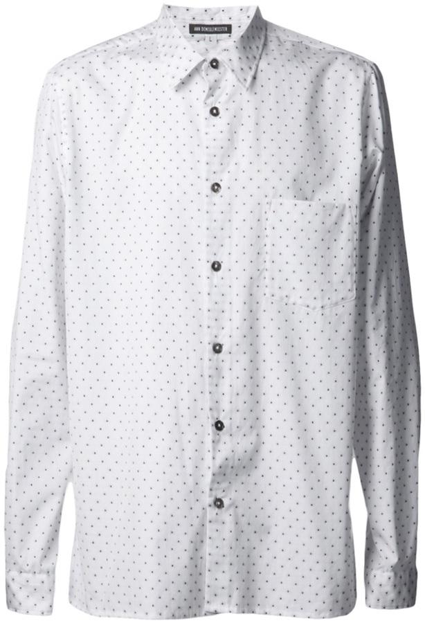 Ann Demeulemeester Polka Dot Shirt