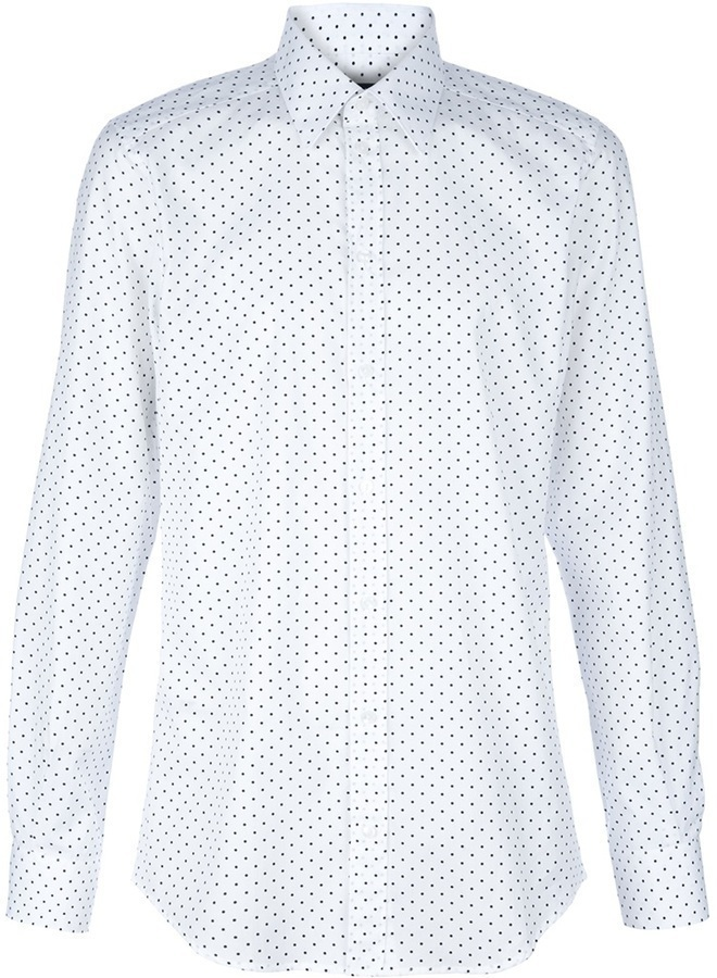 Dolce & Gabbana Polka Dot Shirt