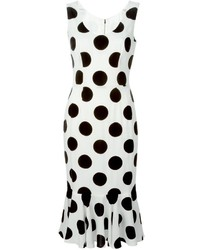 Dolce & Gabbana Polka Dot Print Dress