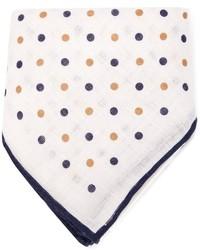 Brunello Cucinelli Polka Dot Pocket Square