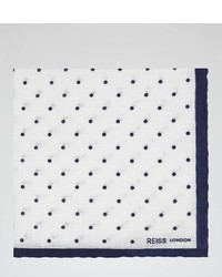 Reiss Raffy Linen Pocket Square