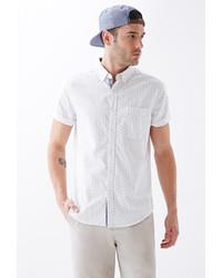 21men 21 Dotted Cotton Oxford Shirt