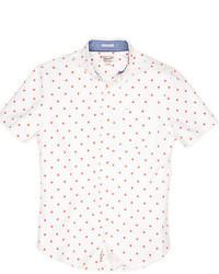 Original Penguin Polka Dot Oxford Short Sleeve Shirt