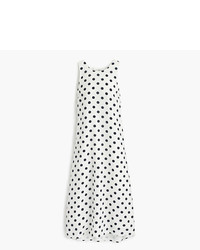 J.Crew Midi Dress In Polka Dot