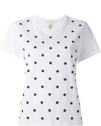 Marc Jacobs Beaded Polka Dot T Shirt