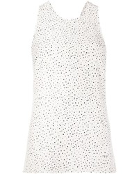 Grey jason wu polka dot tank top medium 3664915