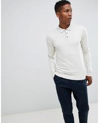 Jack & Jones Premium Knitted Long Sleeved Polo Shirt