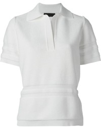 Alexander Wang Ribbed Polo Shirt