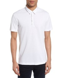 Bound placket air pique polo medium 3760396