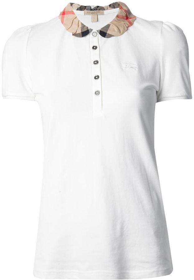 gran venta tienda oficial venta en línea Brit Check Collar Polo Shirt