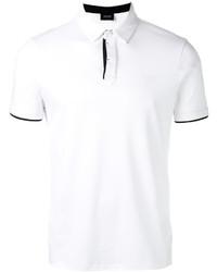 Armani Jeans Contrast Detail Polo Shirt