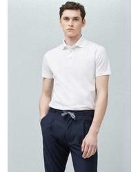 Mango Outlet Cotton Basic Polo Shirt