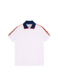 63ab9fdeb7e Gucci Men s White Polos from farfetch.com