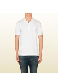 Gucci Cotton Pique Short Sleeve Polo