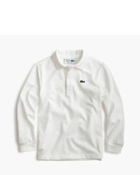 Lacoste Kids For Jcrew Long Sleeve Polo Shirt