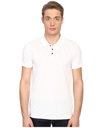 Vince Short Sleeve Slub Polo Shirt