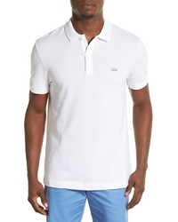 White croc regular fit pique polo medium 3751173