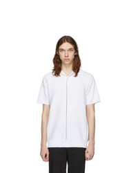 Minotaur White Fly Knit Polo