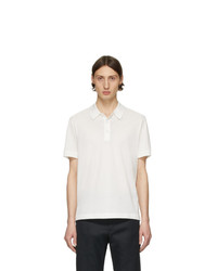 Brioni White Logo Polo