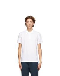 BOSS White Piro Regular Fit Polo