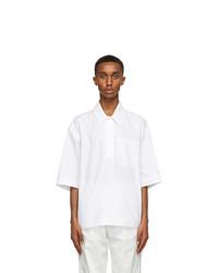 Valentino White Polo Shirt