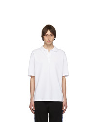 Diesel White T Plato Pop Polo