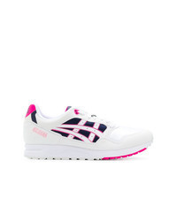 White Print Athletic Shoes