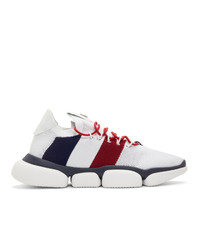Moncler White Bubble Sneakers